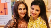 Mrs D meets Mrs D. Aishwaryaa Dhanush meets Sakshi Dhoni and the result is an epic post
