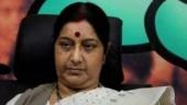 Draupadi being disrobed: Sushma Swaraj seeks Mulayam's response on Azam Khan's khaki remark