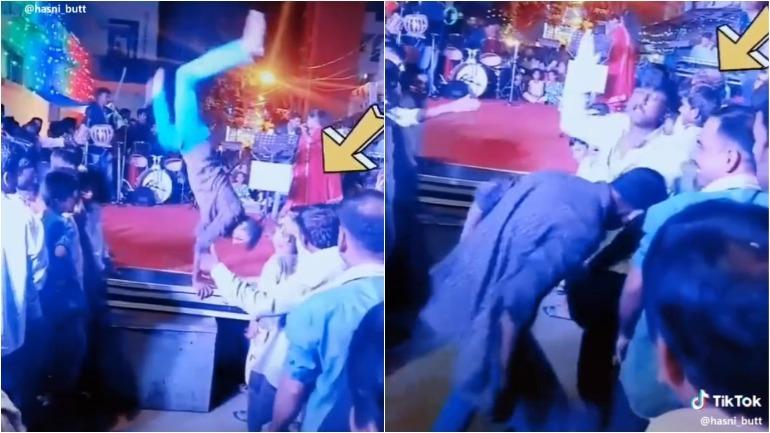 Two drunk men fight, dance and prove Indian shaadis are the best