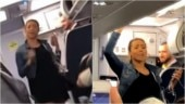 Drunk woman on flight twerks and flashes after air hostess asks her to switch off phone