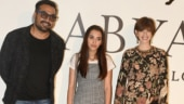 Anurag Kashyap poses with ex-wife Kalki Koechlin and daughter Aaliyah Kashyap. See rare pics