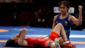 Vinesh Phogat bags bronze in new weight category in Asian Wrestling Championships