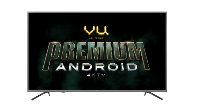 Vu launches 4K Android TVs starting at Rs 35,000, to compete