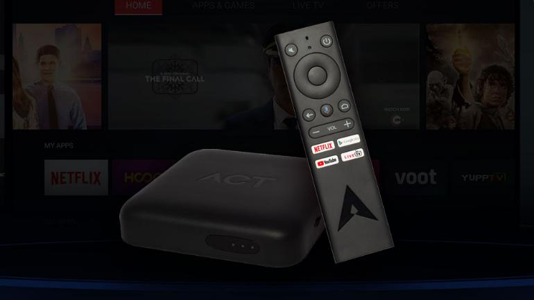 ACT Fibernet launches Android-powered 4K streaming box, supports