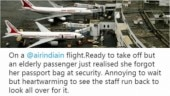 Air India crew delays flight to Mumbai for elderly passenger. Their reason wins the day