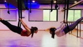 Alia Bhatt nails aerial yoga with her best friend. See pic