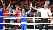 India's Amit Panghal came up with a dominant display in the 52kg final of Asian Boxing Championships on Friday (IANS Photo)