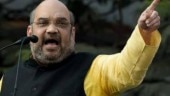 Congress claims poll code violation in Amit Shah road show