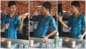 Kerala man shows off mad bartending skills at street side stall in TikTok viral video. Internet hearts it