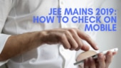 JEE Mains Result 2019: How to check on mobile