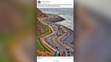 Fact Check: Road in Morocco passed off as Char Dham expressway