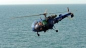 Indian Navy averts catastrophe, ditches Chetak helicopter at sea