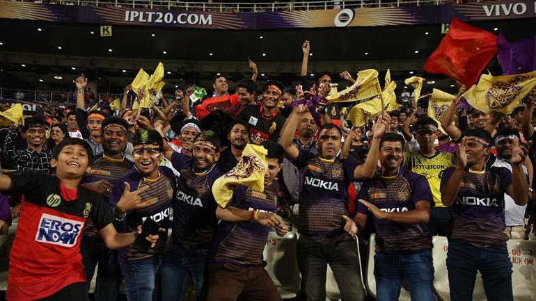 KKR lost the match by 10 runs after RCB posted 213 on the board (<b>Courtesy by BCCI</b>)