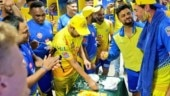 Watch: CSK players celebrate coach Stephen Fleming's 46th birthday after beating RR