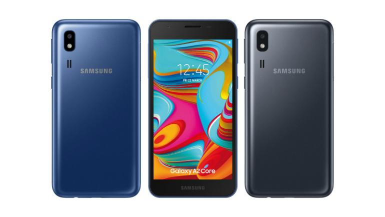 Samsung Galaxy A2 Core with Android Pie Go edition launched