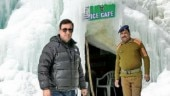 J&K: Ice cafe in Ladakh at 14,000 feet