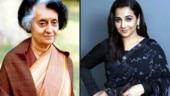 Vidya Balan to do web series on Indira Gandhi?
