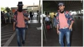 Irrfan uncovers face for photos at Mumbai airport. Watch video