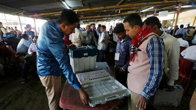 11 40 per cent polling till 9 am in eight LS seats of western UP