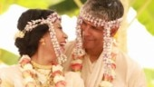 Milind Soman and wife Ankita Konwar celebrate first anniversary with unseen wedding video