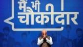 I'm chowkidar of toilets: PM Modi hits campaign trail in Maharashtra's Wardha