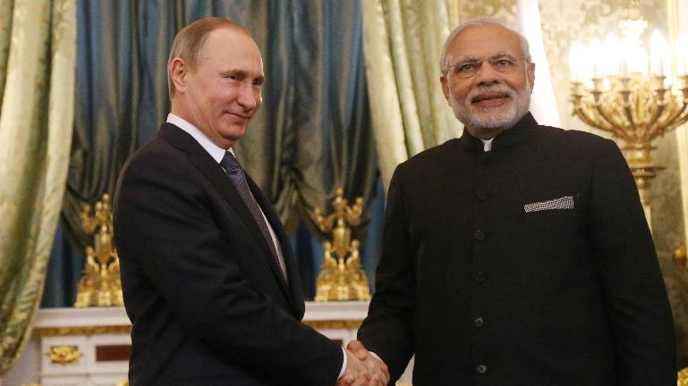 Russia awards PM Narendra Modi its highest order