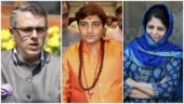 Consume almonds: Mehbooba Mufti pokes Omar Abdullah on past ties with BJP over Sadhvi Pragya's poll debut