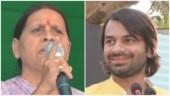 Bahut hua, laut aao beta: Rabri Devi tells son Tej Pratap Yadav