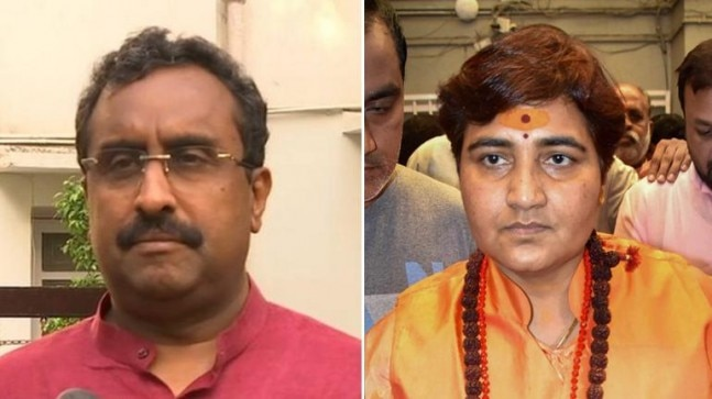 Sadhvi Pragya apt challenger for Digvijay who promoted dubious saffron terror idea, says Ram Madhav