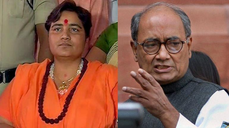 Image result for Why BJP field Pragya Thakur in elections? Here the reason