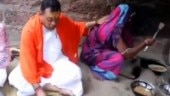 Sambit Patra enjoys meal cooked on chulha, Twitter, BJD ask what happened to free gas connections for poor