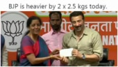 Sunny Deol joins BJP. Twitter kills it with crazy memes and jokes