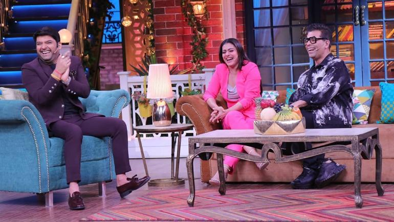 The Kapil Sharma Show: Kajol compared Kapil's English to Karan