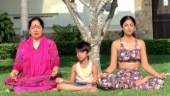 Shilpa Shetty celebrates Mother's Day with yoga session with mom and son in Thailand. Watch video