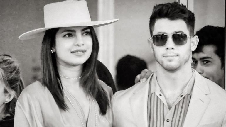 Image result for Nick and Priyanka Cannes