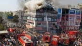 Surat fire: 22 killed in coaching centre blaze, horrific visuals show kids falling off burning building