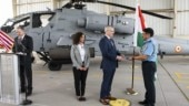IAF gets its first Apache Guardian attack helicopter in US