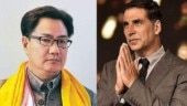 Akshay Kumar thanks Kiren Rijiju for supporting him in Canadian citizenship controversy