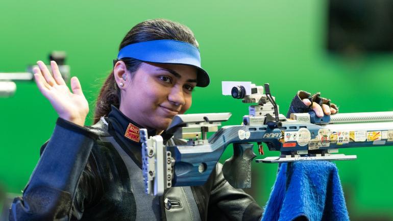 Shooting World Cup: Apurvi Chandela bags 10m air rifle gold in