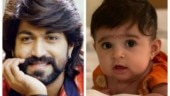 KGF star Yash and Radhika release first photo of their baby daughter YR. See pic