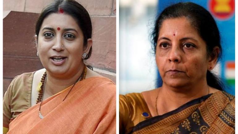 Nirmala Sitharaman Gets Finance Ministry Smriti Irani Takes
