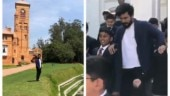 Nostalgic Ram Charan goes back to his school in Ooty. See pics