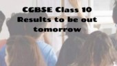 CGBSE Class 10th Result 2019: Chhattisgarh Board Class 10 Results to be out tomorrow at cgbse.nic.in