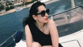 Karisma Kapoor is summer ready in black one-shoulder monokini on a yacht. See pic