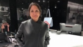 Neena Gupta raises the temperature in leather jacket and boots