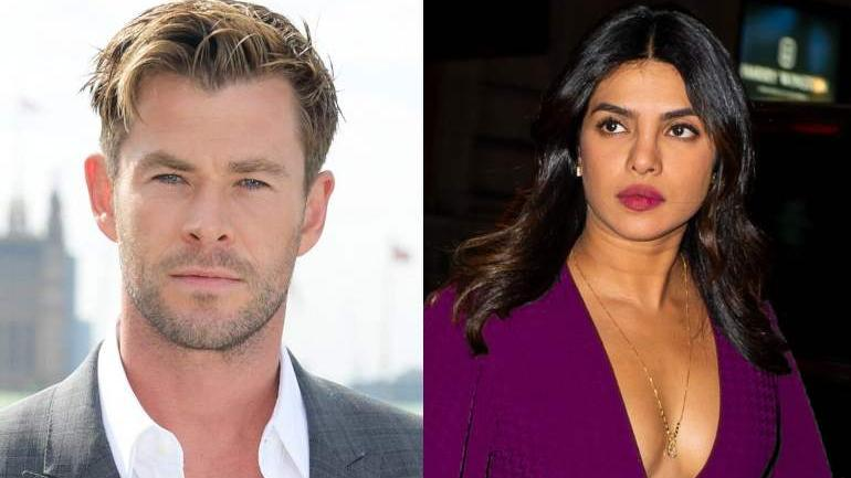 Chris Hemsworth says that he would love to do a Bollywood film with Priyanka Chopra.