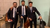 Watch: Noise and good wishes galore as Virat Kohli and Co. take off for England