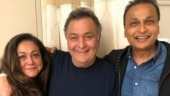 Rishi Kapoor gets a visit from Anil Ambani and Tina Ambani in NYC: Lovely to see my old friends