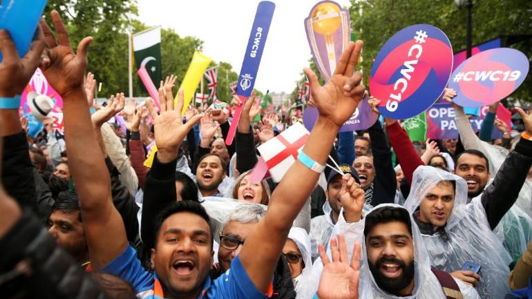 Image result for audience cheering the world cup 2019