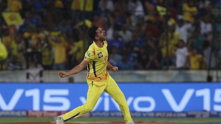 MI vs CSK IPL final: Deepak Chahar picked 3 wickets for CSK in the final.